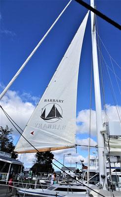 .....Segeltour mit der Barbary.....