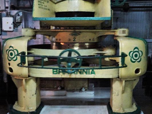 Eine 100 Jahre alte Maschine