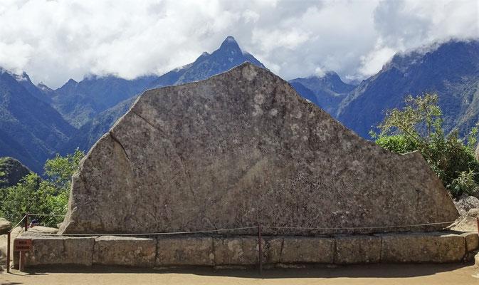 Der magische Felsen in Bergform.