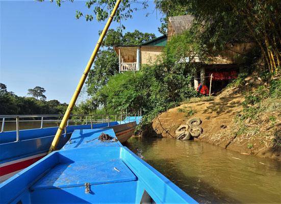 Flussfahrt auf dem Song Dong Nai beim Cat Tien Nationalpark.