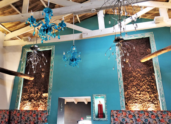 Das Uchu Restaurant......