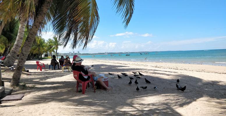 Der Strand von Maceio.....