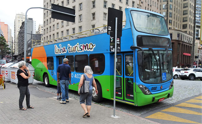 Unsere Bus-Tour durch.....