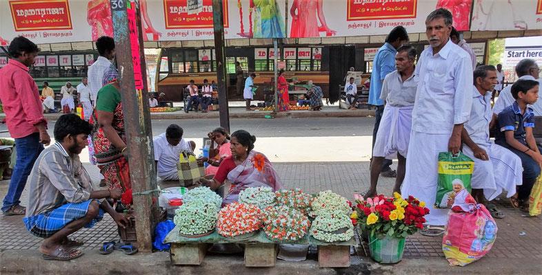 Die Blumenverkäuferin und....