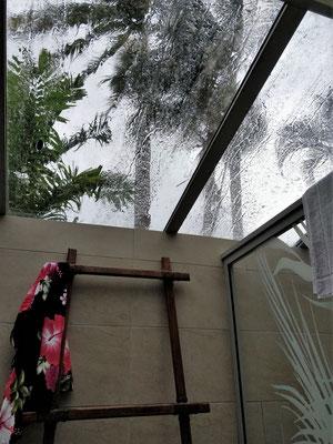 .....dem Regen.