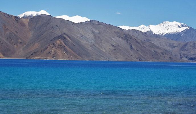 ...den Pangong Lake....