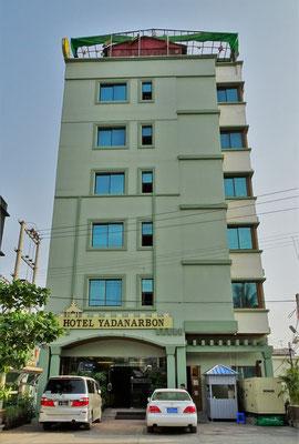 Unser Hotel Yadanarbon