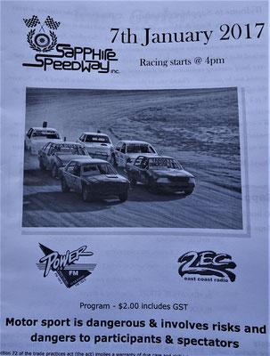 Der Saphire Speedway im Bega Valley.