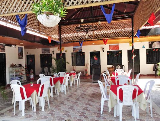Das Colonial Hotel in Villavieja.....