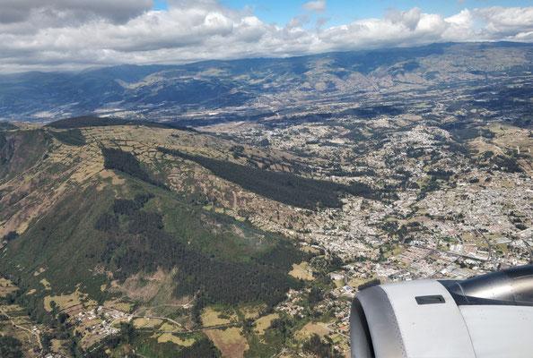 .....1,6 Mio Stadt Quito.