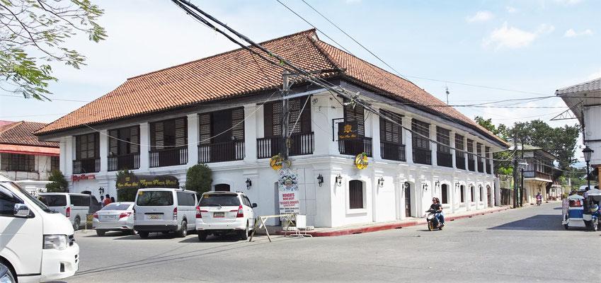 Das Vigan Plaza Hotel im Zentrum.