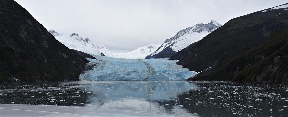 Der Garibaldi Gletscher......