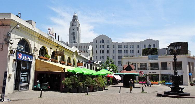 Die Altstadt von Montevideo......
