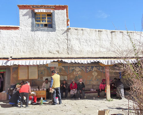 Das Kloster Tou Ding in Zhada...