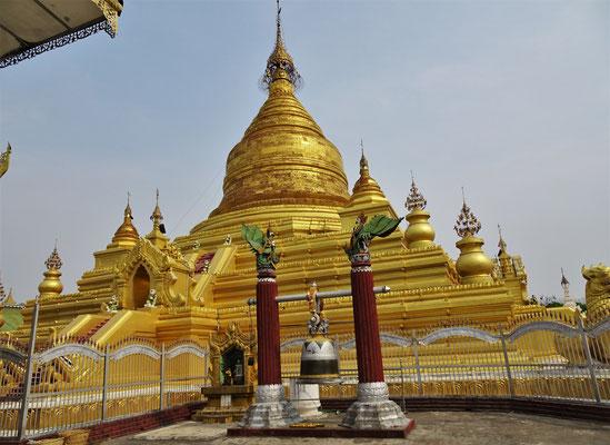 Der zentrale Stupa...