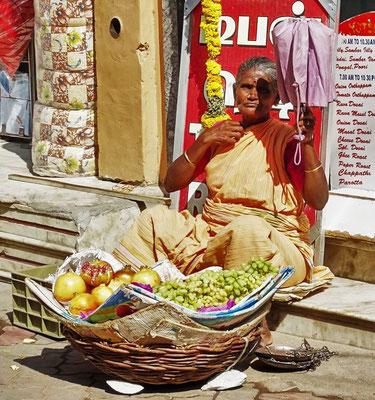 Die Früchtehändlerinn