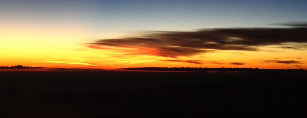 ....schöner Sonnenuntergang.