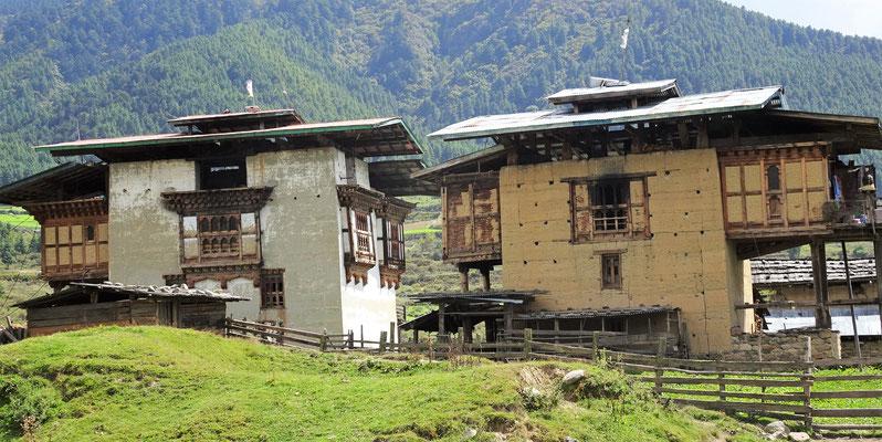 ...die typischen Häuser.