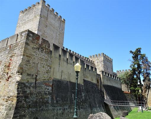 Die zentrale Burg......