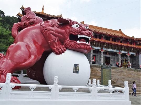Der Wenwu Tempel....