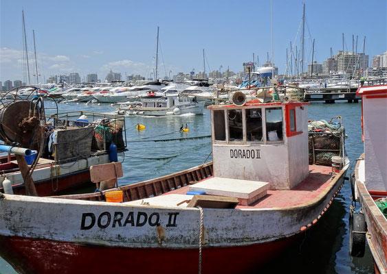 ....alten Fischerbooten....