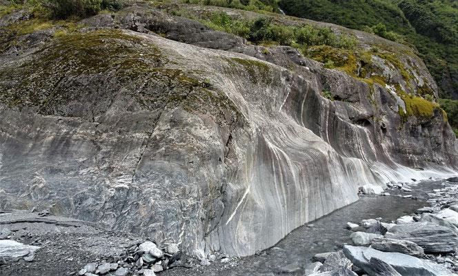 Der Gletscher.....