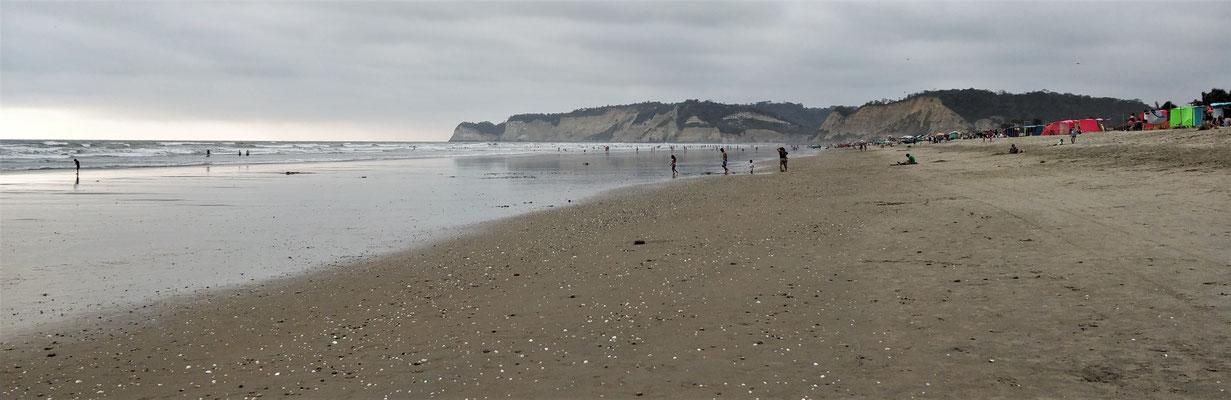 Der breite Strand....