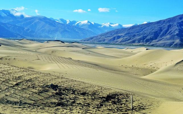 Auf der Fahrt nach Lhasa...