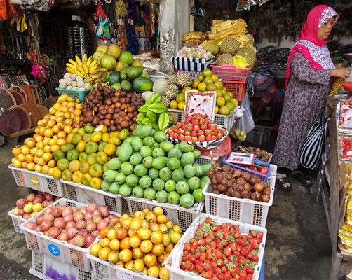 Der Markt von Bedugul.
