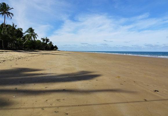 Die schöne Beach.