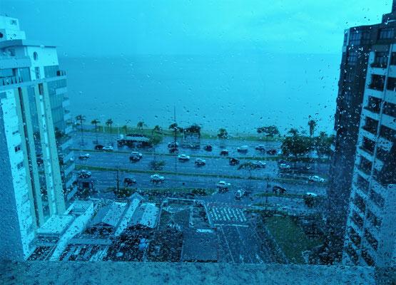 Foto durch die Fensterscheibe.....