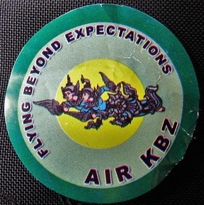 ....der KBZ Airline fliegen wir.
