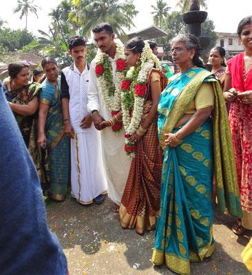 Eine Hindu Hochzeit...