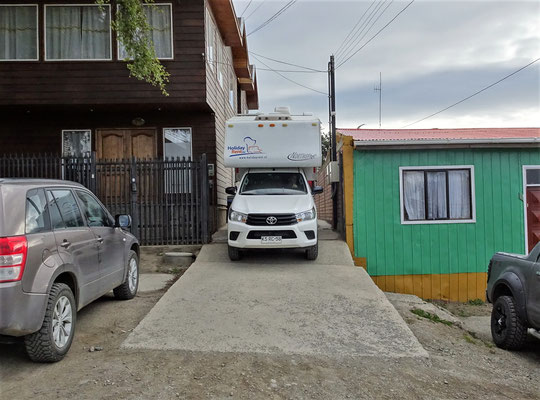 .....in Punta Arenas.