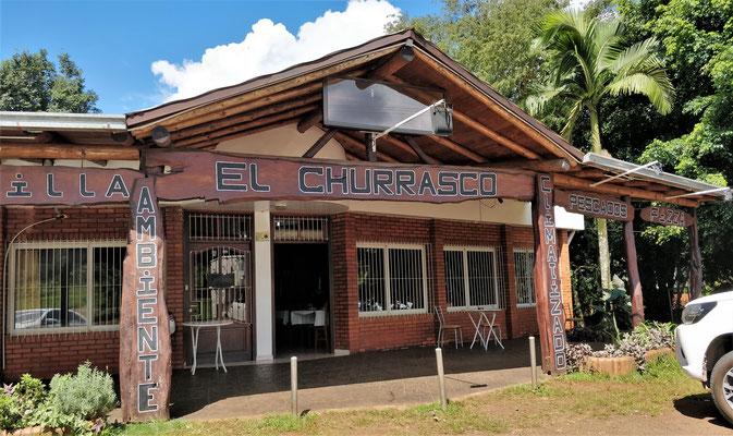 Das Restaurant Churrasco.....