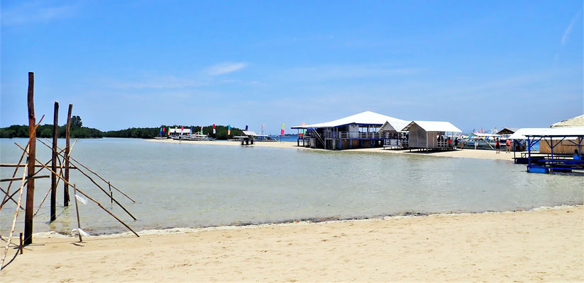 .....auf Luli Island.