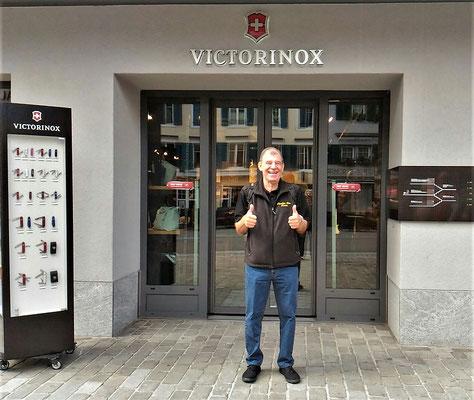 Führung durch das Victorinox Museum......