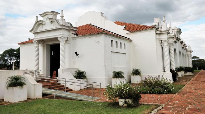 Das Museumsgebäude......