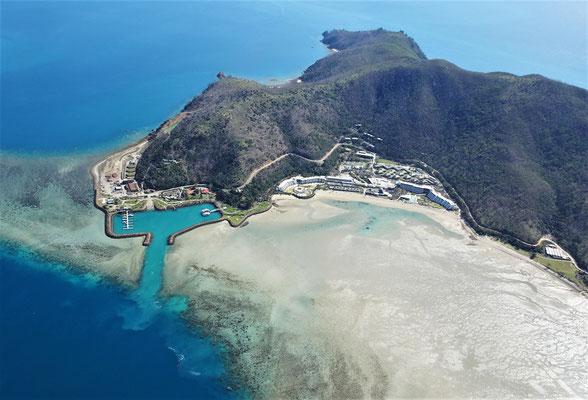 Eine teure Touri-Insel.