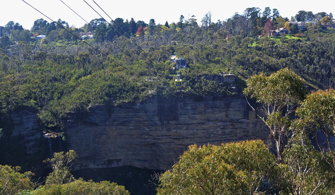 Der Katoomba Wasserfall.