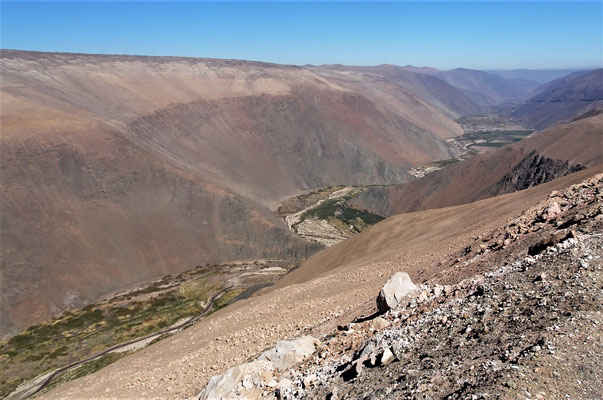 .....auf der Weiterfahrt nach Arica.