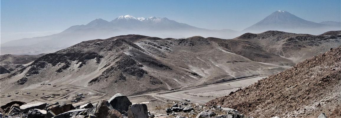 Die Weiterfahrt nach Arequipa.....