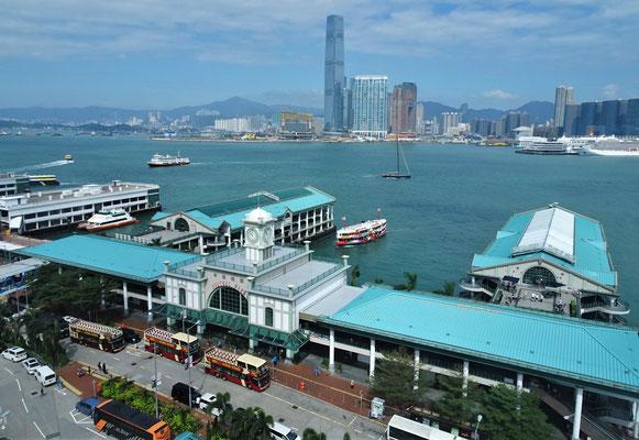 Der Star Ferry Terminal.
