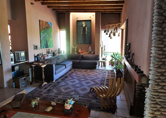 Das Innere der Villa....