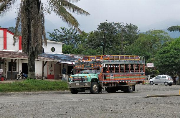 Ein typischer Bus.