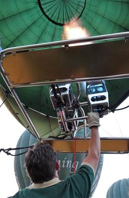 Matt unser Ballonfahrer Pilot...