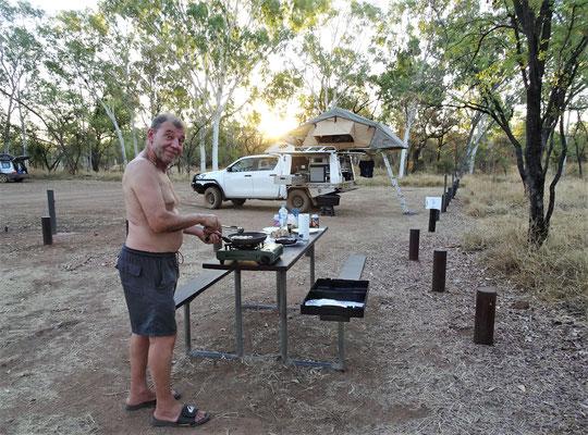 Der einfache Campground.