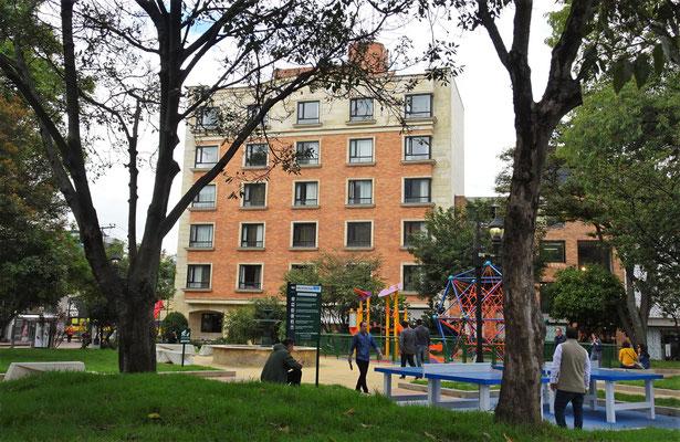 Das Morrison Hotel in Bogota.....