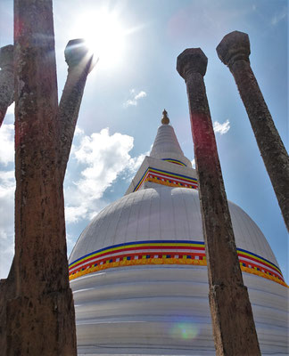 Die älteste Pagoda aus dem 3. Jh. vor Christus.