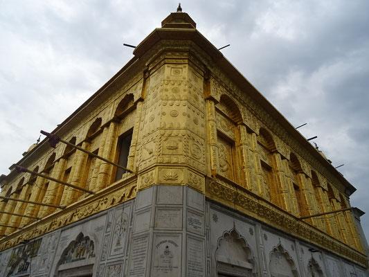 Der Shree Durglana Tempel den wir...